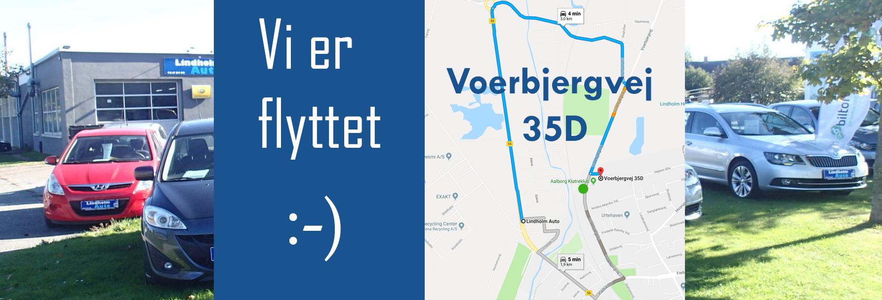 Lindholm auto, LHauto, Flyttet til Voerbjergvej 35d